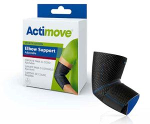 Actimove Elbow Support Sleeve, Adjustable (Sports Edition)