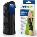 Actimove Wrist Stabilizer Brace with Removable Metal Stay, Sports Edition
