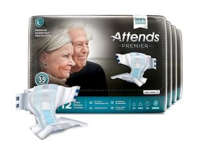 Attends Premier Incontinence Briefs, Premium Overnight Protection