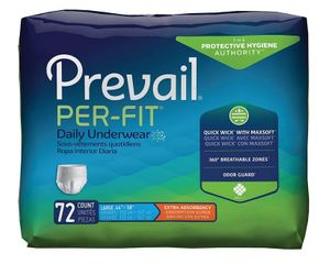 Prevail Per-Fit Underwear, Extra Absorbency