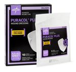 "Puracol Plus Collagen Dressing for Wounds 2"" x 2"" & 4"" x 4"", Medline"