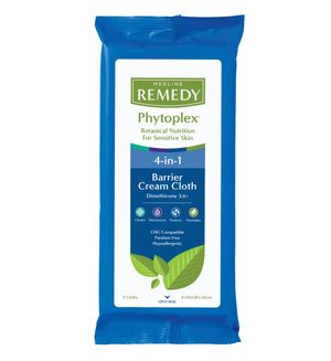 Remedy Phytoplex Dimethicone Skin Protectant Barrier Cream Cloth Wipes