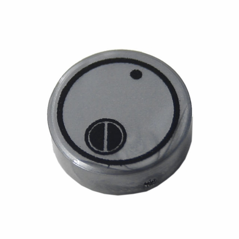 1x1 Canister Lid  - Steel