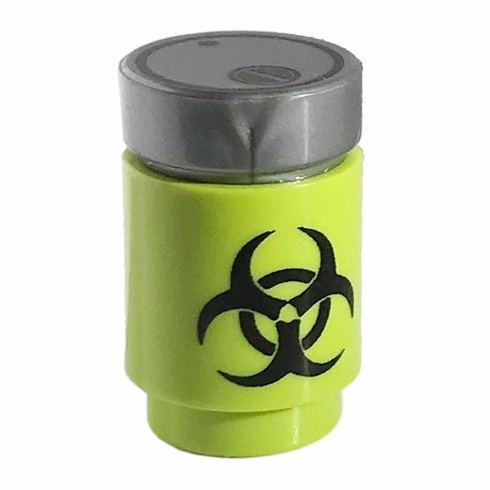 Bio Hazard Canister - Lime
