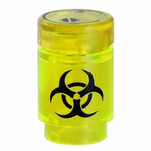 BioHazard Canister - Trans Neon Green