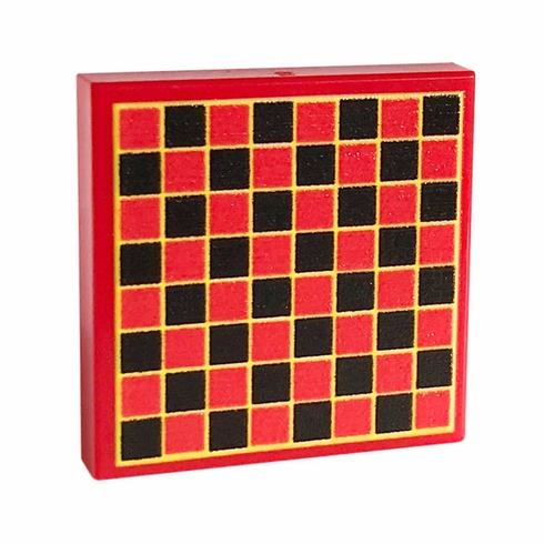 Chess Board (Red/Black/Yellow)