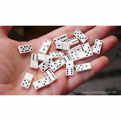 """Double 6"" Micro Dominoes"