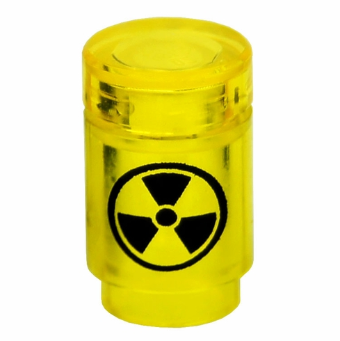 Radiation Canister - Trans Yellow