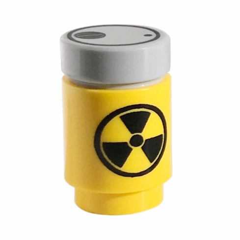 Radiation Canister - Yellow