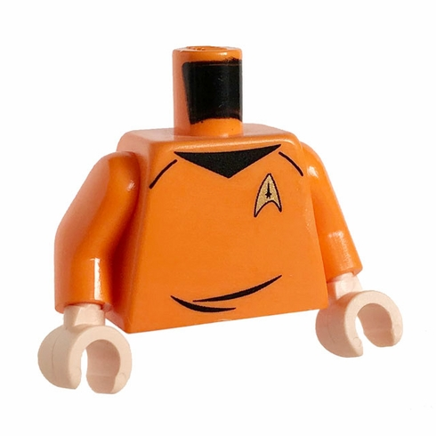 Space Explorer Torso - Orange