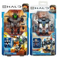 2015 Halo Mega Bloks Heavy Assault Cyclops & Sector 12 Police Cyclops