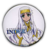 """A Certain Magical Index - Index Button 1.25"""" RETIRED"""