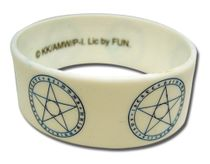 A Certain Magical Index Magic Circle Pvc Wristband RETIRED