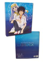 A Certain Magical Index - Toma, Index & Mikoto Binder RETIRED