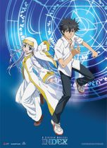 A Certain Magical Index - Toma & Index Wallscroll RETIRED