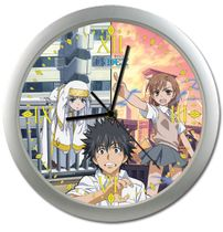 A Certain Magical Index Touma, Misaka, Index Wall Clock RETIRED