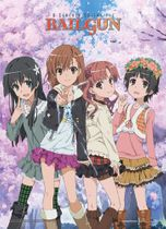 A Certain Scientific Railgun - Mikoto & Friends Wallscroll Pre-Order
