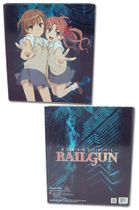 A Certain Scientific Railgun Mikoto & Kurok Binder Pre-Order