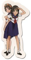 A Certain Scientific Railgun - Saten & Uiharu Sticker Pre-Order