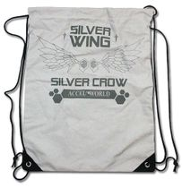 Accel World Silver Crow Wings Drawstring Bag Pre-Order