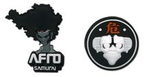 Afro Samurai Afro & Afro Droid Pin Set RETIRED