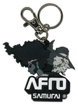 Afro Samurai Afro And Justice Pvc Keychain RETIRED