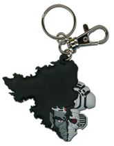 Afro Samurai Afro Droid Half Face Pvc Keychain RETIRED