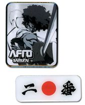 Afro Samurai Afro Pin Set RETIRED