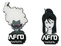 Afro Samurai Ninja Ninja & Okiku Pin Set RETIRED