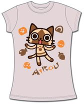 Airou From The Monster Hunter - Airou Jrs. T-Shirt L Pre-Order