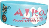 Airou From The Monster Hunter - Group Pvc Wristband Pre-Order