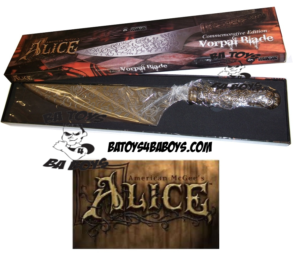 Commemorative Vorpal Blade Limited Edition 1 of 1000