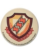 "Angel Beats School Emblem 3""Button RETIRED"