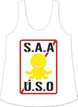 Assassination Classrom - Saauso Logo Tank Top M Pre-Order