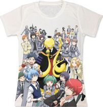 Assassination Classroom - Group Jrs. Sublimation T-Shirt S Back Order
