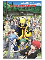 Assassination Classroom - Group Paper Poster Pre-Order