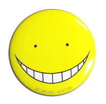 Assassination Classroom - Koro Sensei Happy Button 1.25'' Pre-Order