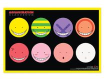 Assassination Classroom - Koro Sensei's Faces Paper Poster Pre-Order