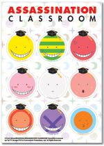 Assassination Classroom - Koro Sticker Set Back Order