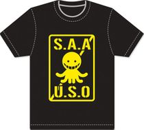 Assassination Classroom - Logo Men Screen Print T-Shirt M Back Order