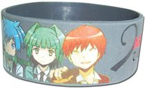 Assassination Classroom - Nagasi & Friends Pvc Wristband Pre-Order