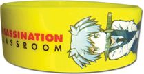 Assassination Classroom - Nagasi Pvc Wristband Pre-Order