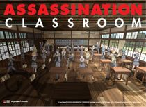 Assassination Classroom - Promo Art Fabric Poster Back Order