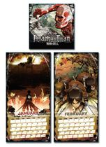 Attack On Titan - 2016 Calendar Pre-Order