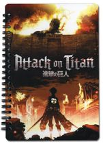 Attack On Titan - Aot Spiral Notebook RETIRED
