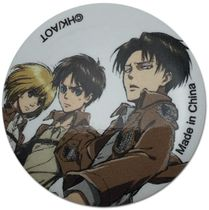 Attack On Titan - Armin, Eren & Levi Button 1.25'' Pre-Order