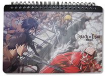 Attack On Titan Attack On Titan Spiral Notebook Pre-Order