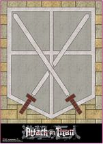 Attack On Titan - Cadet Corps Wall Scroll Pre-Order