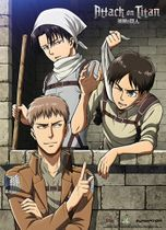 Attack On Titan - Clean Up Room Special Edition Wallscroll Pre-Order