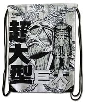 Attack On Titan - Colossal Titan Drawstring Bag RETIRED